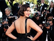 Sonam, Freida dazzle at Cannes 2014 red carpet