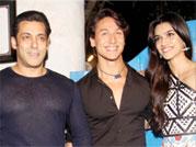Salman, Aamir celebrate Heropanti success bash