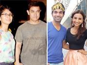 Aamir Khan-Kiran Rao and Rajkumar Rao- Patralekha spotted hand-in-hand