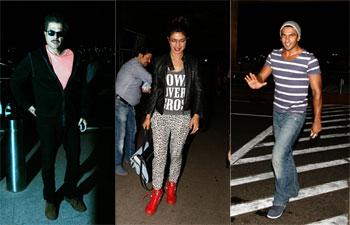Anil Kapoor, Priyanka Chopra, Ranveer Singh