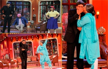 Kapil Dev had a fun-packed evening on the show Comedy Nights with Kapil
