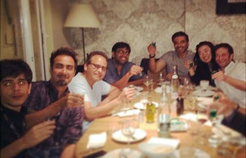 Ranvir Shorey & Uday Chopra with other celebs.