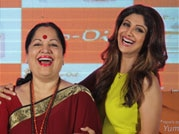 Shilpa Shetty and mom attend calendar launch ahead of Mother's Day