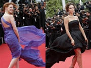 Cannes 2014: When the wind got naughty!