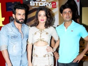 Jay and Surveen launch Hate Story 2 trailer