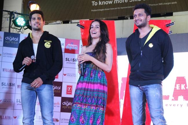 Sidharth Malhotra, Shraddha Kapoor, Riteish Deshmukh