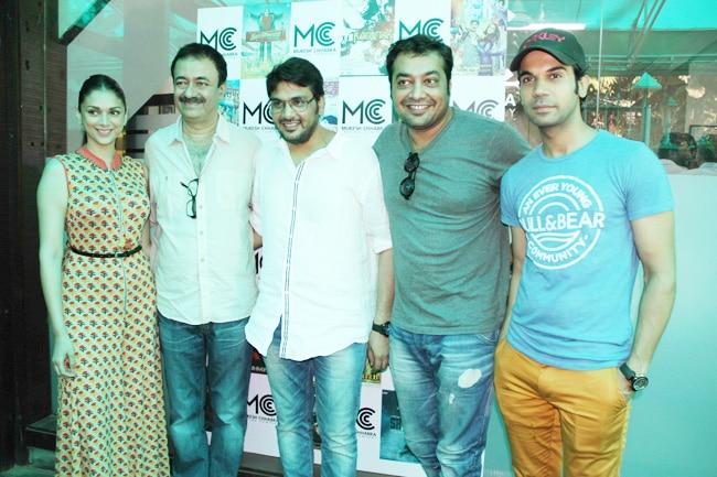 Aditi Rao Hydari, Raju Hirani, Mukesh Chabbra, Anurag Kashyap, Rajkummar Rao