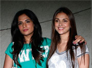 Richa, Aditi, Evelyn attend special screening of Chef