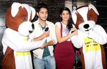 Armaan Jain and Deeksha Seth