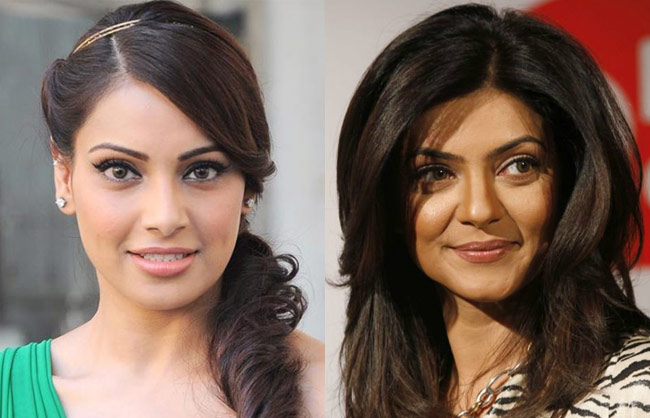 Bipasha Basu and Sushmita Sen