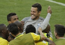 Photos: Brazil win on penalties, Chile out of World Cup 2014