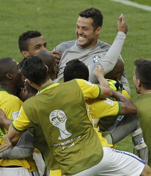 Brazil won the FIFA World Cup round of 16 clash against Chile with a score of 1-1 at full-time, and 3-2 on penalties, at the Mineirao Stadium in Belo Horizonte, Brazil, on Saturday.