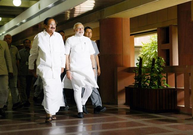 Narendra Modi, Venkaiah Naidu