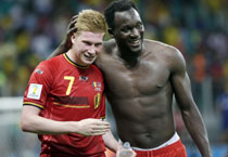 Belgium romp to a thrilling 2-1 win against USA