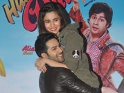 Alia-Varun hail a cab in the City of Joy for Humpty Sharma promotions