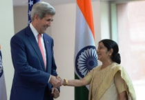 John Kerry, Sushma Swaraj co-chair fifth Indo-US strategic dialogue