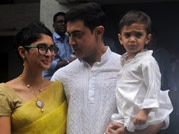 Aamir Khan celebrates Eid with family