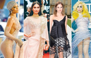 An usual style pile from Hollywood to Bollywood