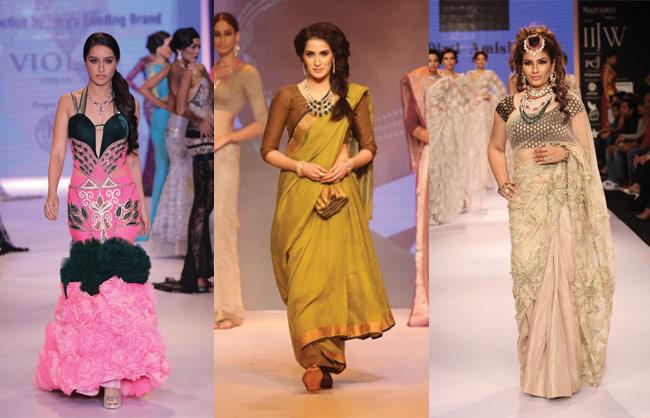 Shibani Kashyap, Zarine Khan, Pooja Chopra, Shraddha Kapoor, Raveena Tandon, Sagarika Ghatge