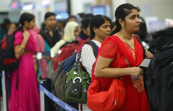 Freed Indian nurses, Kochi nurses, Kochi airport
