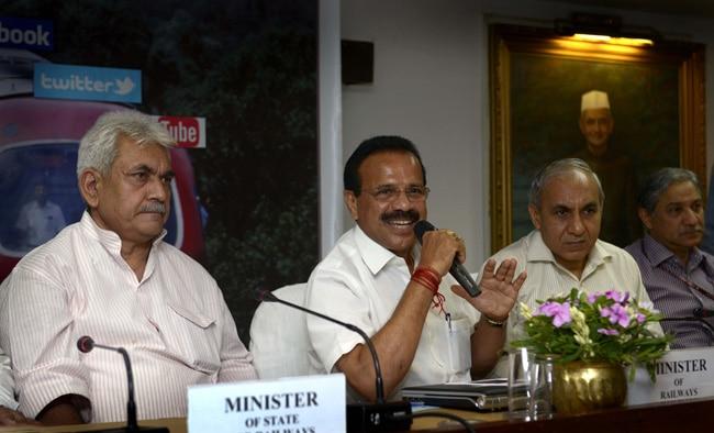Railway website, D.V. Sadananda Gowda, Railway budget 2014