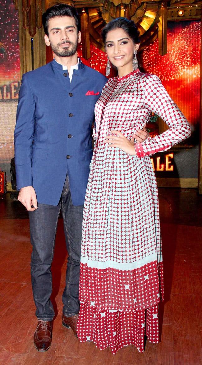 Fawad Khan and Sonam Kapoor