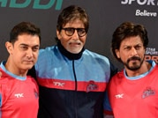 Kabaddi brings Big B, SRK and Aamir together