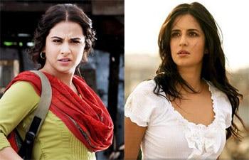 Katrina Kaif and Vidya Balan