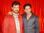 Irrfan Khan, Shah Rukh Khan