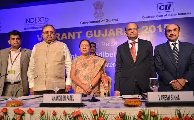 Vibrant Gujrarat 2015, Anandiben Patel