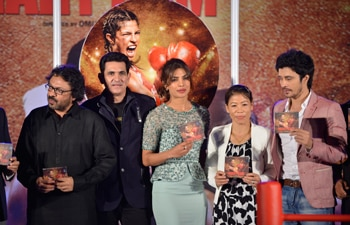 Music launch of Mary Kom