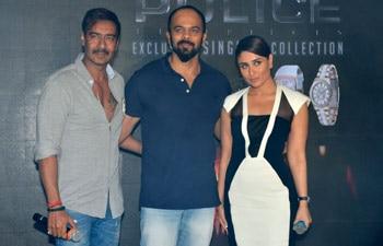 Ajay Devgn, Rohit Shetty, Kareena Kapoor