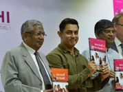 Aamir Khan at book launch