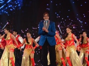 Big B entertains fans on KBC gala opening show