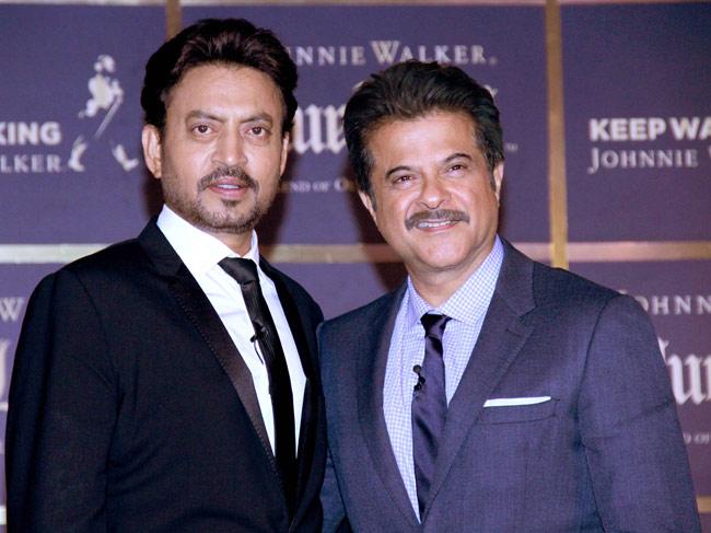 Irrfan Khan, Anil Kapoor