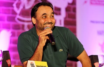 Comedian and MP Bhagwant Mann at the India Today Mind Rocks Youth Summit 2014 being held in Chandigarh.