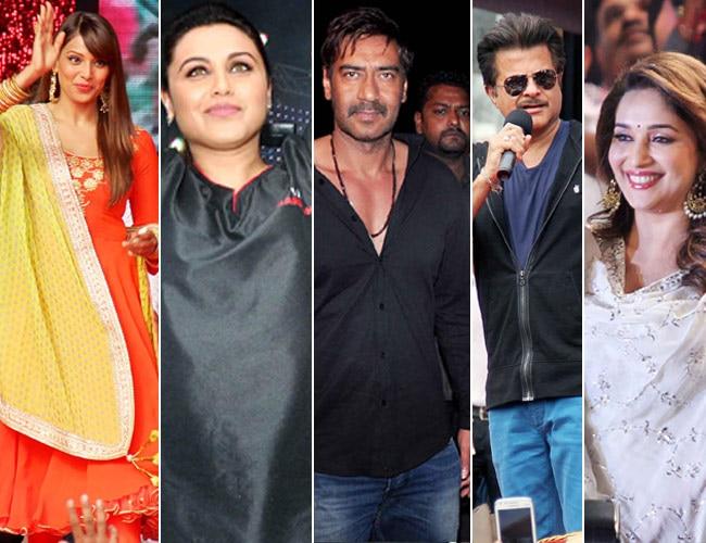 Bipasha Basu, Rani Mukerji, Ajay Devgn, Anil Kapoor, Madhuri Dixit