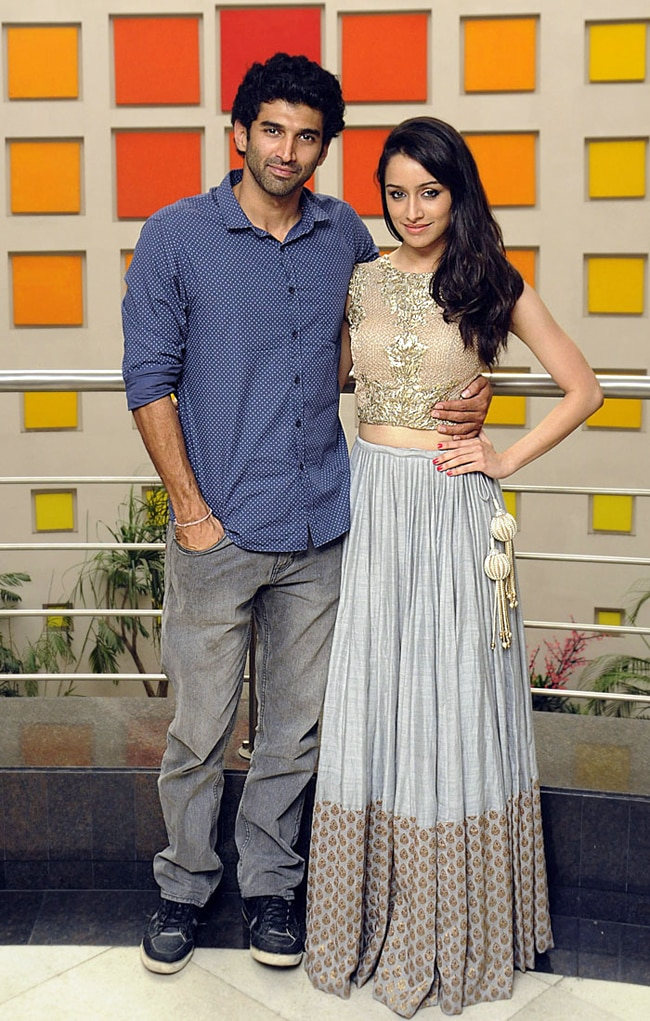 Aditya Roy Kapur and Shraddha Kapoor