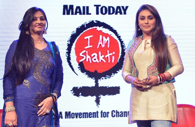 Pooja Garg of PC Jewellers with Rani Mukerji