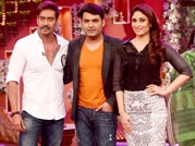 Ajay, Kareena have a blast on Comedy Nights With Kapil