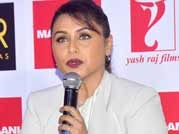 Rani Mukerji looks chubby as she unveils Mardaani anthem