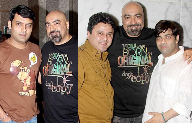Kapil Sharma, Vicky Tejwani, Ali Asgar, Kiku Sharda