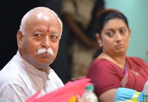 Photos: RSS Chief Mohan Bhagwat at a book launch