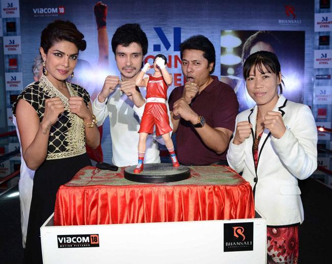 Priyanka Chopra, Darshan Kumar, Mary Kom
