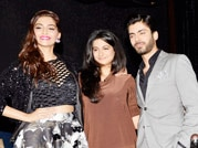 Sonam-Fawad dance their hearts out at Khoobsurat music launch