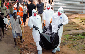 The world's worst outbreak of Ebola has claimed the lives of 1,069 people and there are 1,975 probable and suspected cases, the vast majority in Guinea, Liberia and Sierra Leone, according to new figures from the World Health Organisation (WHO).