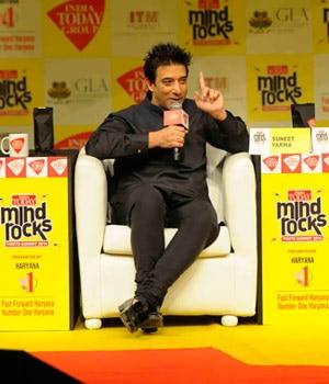 Today Mind Rocks Youth Summit 2014, Suneet Varma