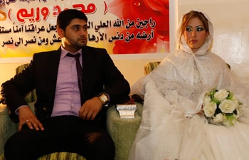 Harith Youssif with Reem Ahmed
