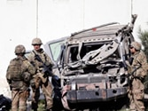 In pics: Suicide attack at US embassy in Kabul