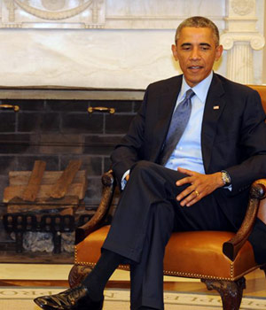 Prime Minister Narendra Modi on Tuesday drove to the famous West Wing of the White House to hold talks with Barack Obama, this being their second meeting after Obama hosted a private dinner for the Indian Prime Minister on his arrival from New York.